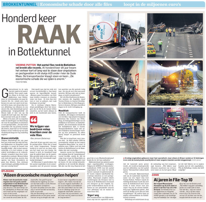 Figuur 1: AD/Rotterdams Dagblad, 11-09-2014